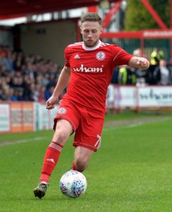 Accrington have Connor Ripley available for Saturday's Sky Bet League One home clash with leaders Portsmouth, which Jordan Clark will sit out.