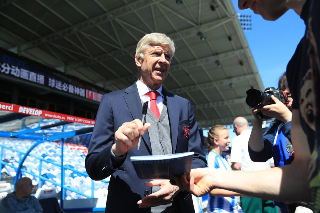 Arsene Wenger has been linked with a return to football as the new director of football at Paris Saint-Germain.