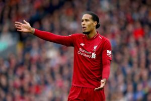 Netherlands manager Ronald Koeman claims Liverpool star Virgil van Dijk has been playing with two broken ribs for the last few weeks.