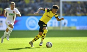 Jadon Sancho is being linked with Manchester United despite Borussia Dortmund stating they are confident he will stay.