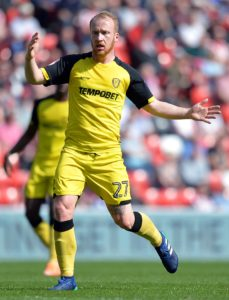 David Templeton is a doubt for Burton's Sky Bet League One clash against Bristol Rovers.