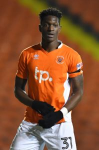 Armand Gnanduillet's first-half goal proved enough for Blackpool to beat Scunthorpe 1-0 at Bloomfield Road.