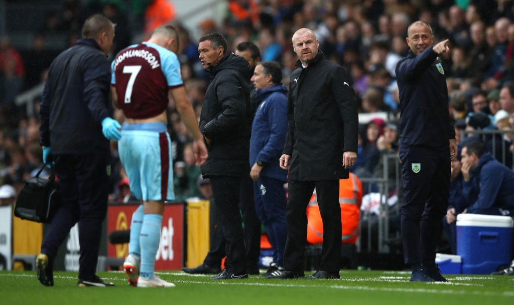 Burnley manager Sean Dyche insists winger Johann Berg Gudmundsson is continuing to prove his worth at the top level.