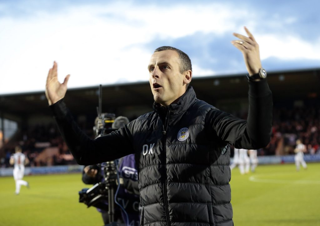 St Mirren manager Oran Kearney admits his bloated squad is so big he has been forced to split it in two just to make training more manageable.