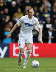 Leeds defender Luke Ayling will miss eight weeks with a right knee injury.