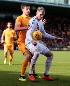 Livingston defender Declan Gallagher insists no-one on his team taunted Rangers players after their shock win on Sunday.
