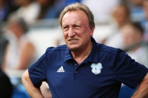 Neil Warnock is hopeful he'll get the funds to sign two or three players, including a new striker, in the January transfer window.