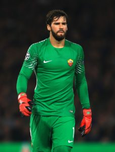 Brazil keeper Alisson has admitted it broke his heart to leave Roma as he had fallen in love with the Eternal City.
