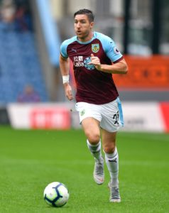 Burnley and Republic of Ireland defender Stephen Ward has undergone minor knee surgery, the Premier League club have announced.