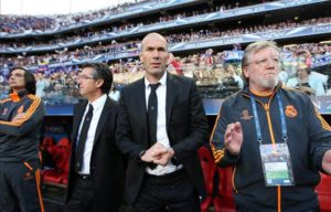 Zinedine Zidane is believed to be keen on the Man Utd job even though his agent has played down the chances of him taking over.