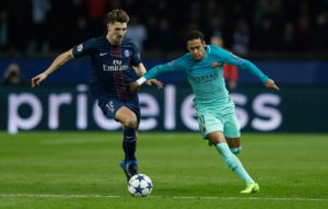 Paris Saint-Germain defender Thomas Meunier has praised coach Thomas Tuchel and feels he has got the balance right in training.
