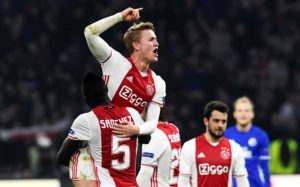 Manchester City target Matthijs de Ligt has dismissed speculation linking him with a switch and insists he is happy with Ajax.