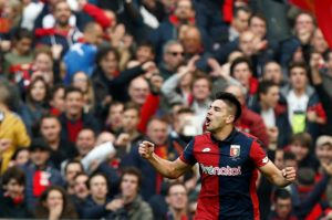 Fiorentina's Giovanni Simeone would love to play for his father at Atletico Madrid despite reported interest from Tottenham.