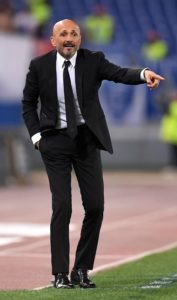 Luciano Spalletti refused to get carried away despite seeing Inter Milan move to second in Serie A with a 3-0 win over Lazio.