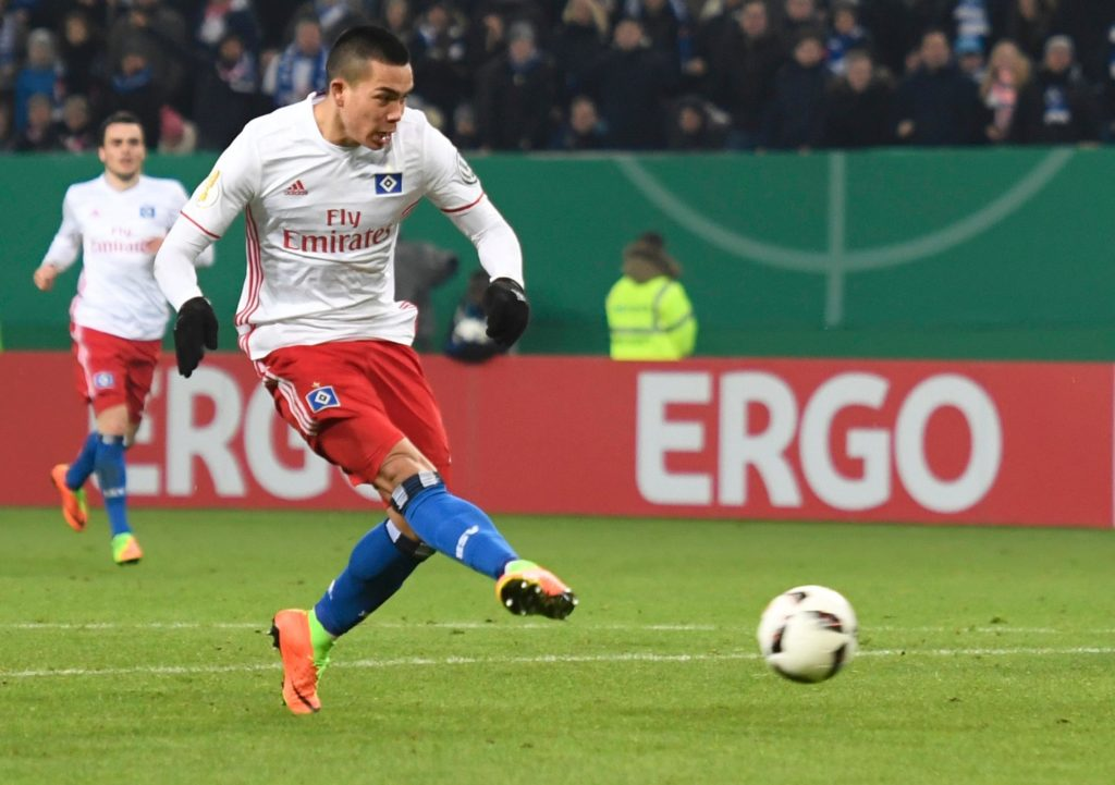 Hannover coach Andre Breitenreiter always felt Bobby Wood would come good after he scored twice in a 3-1 win over Stuttgart.