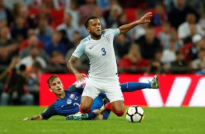 Southampton defender Ryan Bertrand hopes he can force his way back into the England squad after missing out on the World Cup.