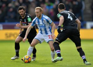 Huddersfield midfielder Jonathan Hogg feels team-mate Alex Pritchard can have a big role to play over the rest of the season.