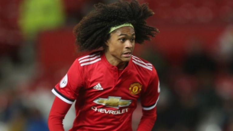 Tahith Chong has been training with the Manchester United first team after Alexis Sanchez was ruled out of the Juventus clash.