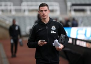 Newcastle have been dealt a blow ahead of Saturday's clash with Brighton as Ciaran Clark has been ruled out with a thigh injury.