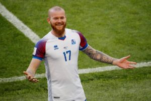 Iceland head coach Erik Hamren says Aron Gunnarsson is 'not ready for us' now but plans to make his international return in November.