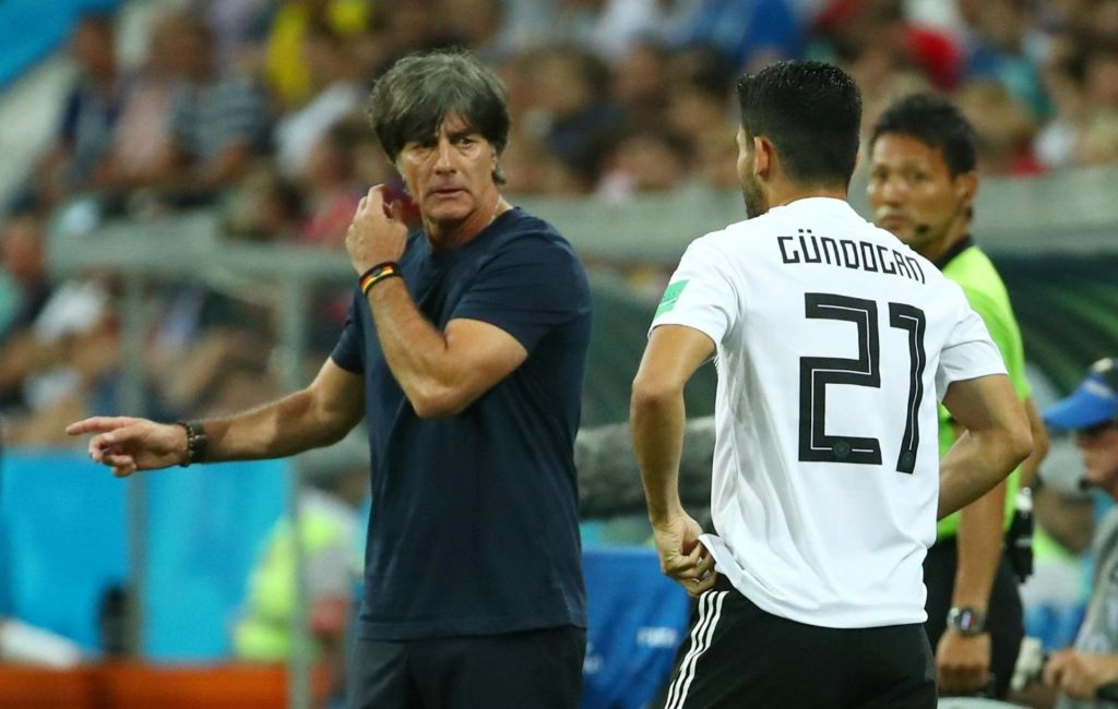 Joachim Low was pleased with his Germany side's performance despite watching them slip to a 2-1 defeat against France in Paris.