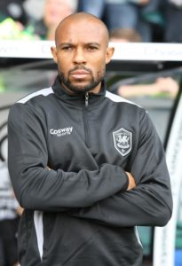 Former Bluebird Danny Gabbidon says he is torn over whether Wales should play at the Cardiff City Stadium.