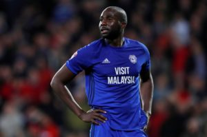 Much-travelled defender Sol Bamba insists he feels at home in Cardiff and is overwhelmed by the support he has received.