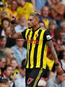 Watford ace Roberto Pereyra maintains the club's focus is still on avoiding the drop but they might aspire to more later in the season.