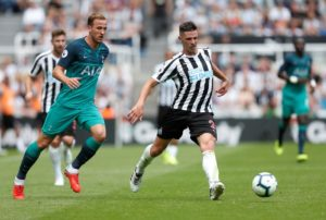 Newcastle have confirmed they will assess the thigh injury picked up by Ciaran Clark when he returns from international duty.