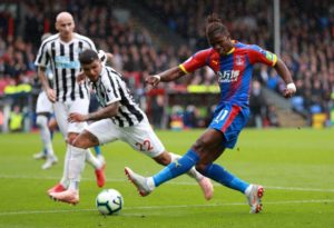 Crystal Palace will assess star man Wilfried Zaha amid reports he's suffered a recurrence of his adductor injury on international duty.