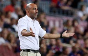 Alaves boss Abelardo Fernandez insists his team are still targeting survival despite moving into second in La Liga.