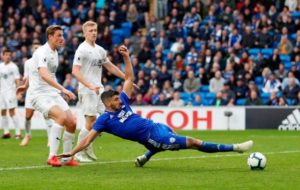 Nathan Blake says the senior strikers at Cardiff should be embarrassed by Callum Paterson being picked up front ahead of them.