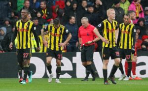 Bournemouth took full advantage of facing 10-man Watford at Vicarage Road for an hour as they recorded an easy 4-0 win.