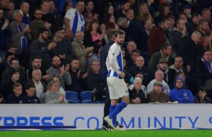 Brighton will be without Davy Propper for Saturday's Premier League clash against Newcastle United at St James' Park.
