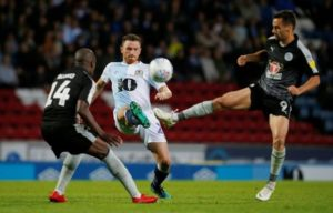 Blackburn's Corry Evans says boss Tony Mowbray deserves all the credit for the club's rise back up the ranks.