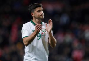 Republic of Ireland boss Martin O'Neill has confirmed Southampton striker Shane Long is in contention for their clash with Denmark.