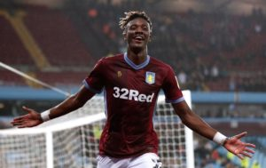 Tammy Abraham is looking to fire Aston Villa to the Premier League this season and prove he is worthy of a place in the Chelsea team.