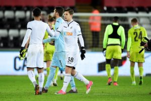 Swansea midfielder Adnan Maric is targeting a spot in the first team after seeing fellow academy graduates get their chance.