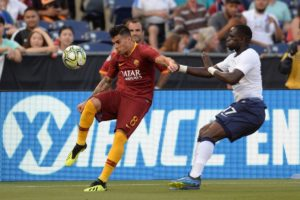 Roma have been hit by the news Diego Perotti faces another spell on the sidelines because of a calf injury.