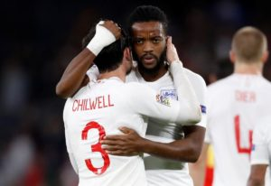Watford's Nathaniel Chalobah made his senior England debut from the substitutes' bench in the historic 3-2 win in Spain on Monday.