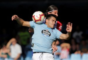 Maxi Gomez has handed Celta Vigo an injury blow after reportedly being ruled out for up to a month because of a sprained knee.