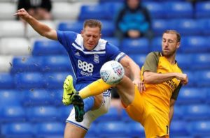 Birmingham captain Michael Morrison says Garry Monk's side have derby rivals Aston Villa in their sights in the Championship table.