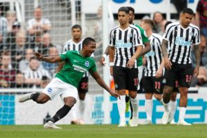 Beram Kayal scored the only goal of the game as Brighton condemned Newcastle to a fifth successive defeat at St James' Park.