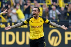 Paco Alcacer says Borussia Dortmund will come up against one of Europe's 'elite' teams when they face Atletico Madrid on Wednesday.