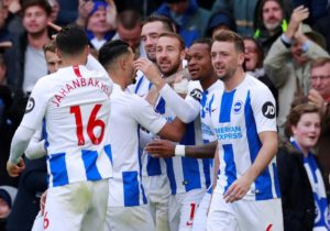 Glenn Murray scored the winner shortly after half time as Brighton made it three victories in a row by beating Wolves 1-0.