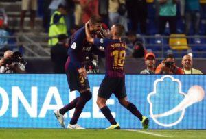 Gerard Pique has pleaded with Spain coach Luis Enrique to hand a recall to his Barcelona team-mate Jordi Alba.