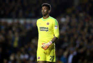 Leeds goalkeeper Jamal Blackman has suffered a broken leg.