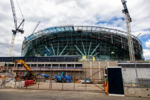 Tottenham have been warned their new stadium may not be up and running until March of next year, according to reports.