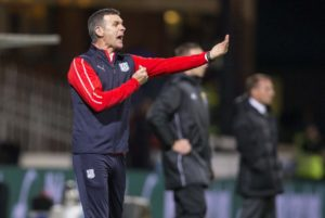 Dundee manager Jim McIntyre took some encouragement from the way his players responded to his demands despite falling to another defeat - 1-0 at Motherwell.