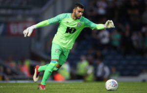 Blackburn goalkeeperDavid Raya could feature against Rotherham despite having a broken nose.